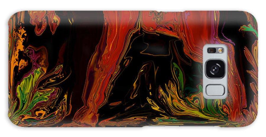 Animal Galaxy Case featuring the digital art Horse by Rabi Khan