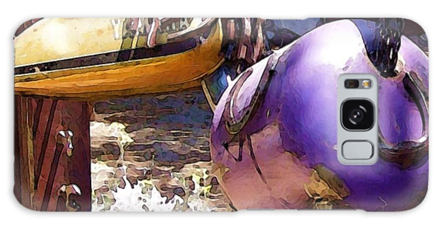Sculpture Galaxy Case featuring the photograph Horse With No Name by Debbi Granruth