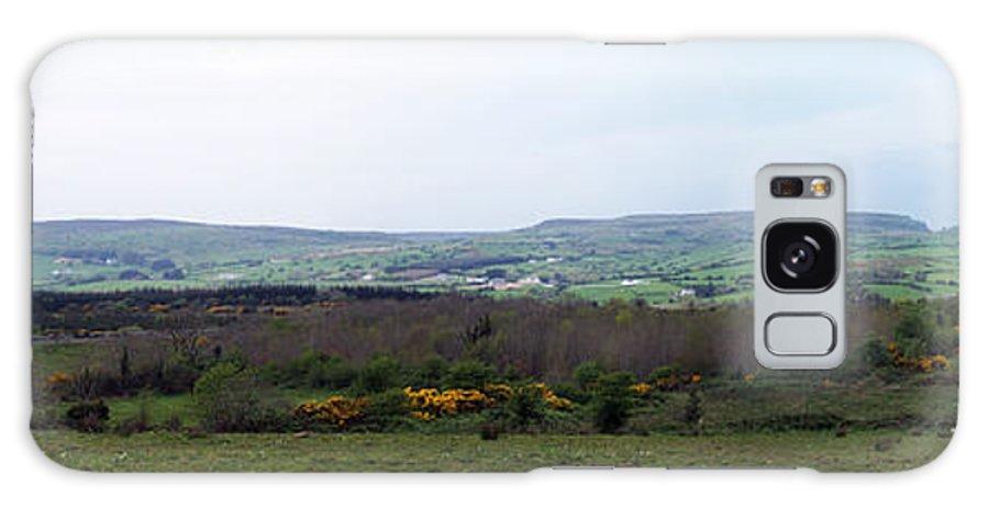 Ireland Galaxy Case featuring the photograph Horses At Lough Arrow County Sligo Ireland by Teresa Mucha