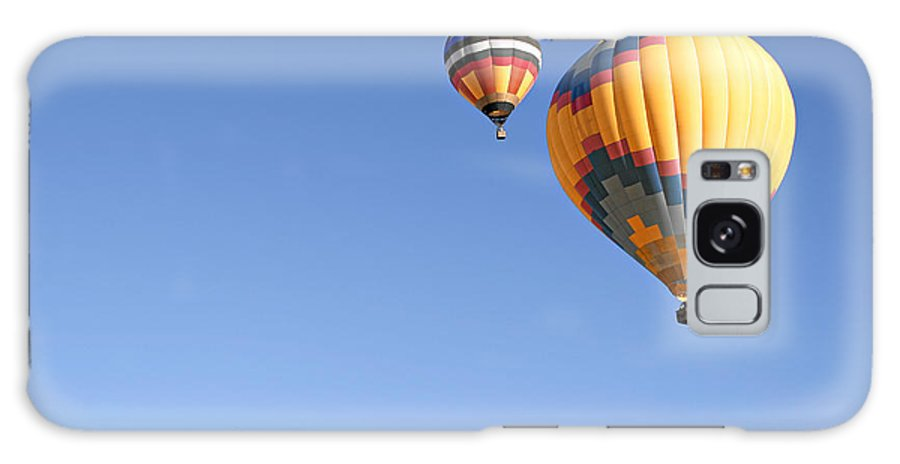 Balloons Galaxy S8 Case featuring the photograph Hot Air Balloon Ride A Special Adventure by Christine Till