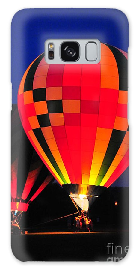 Hot Air Balloons Galaxy S8 Case featuring the photograph Hot Air Balloons by Catherine Reusch Daley