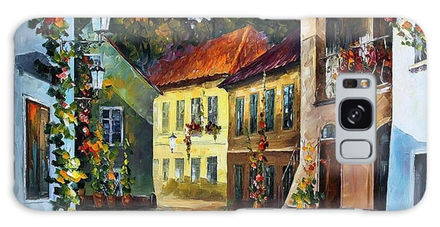 Afremov Galaxy S8 Case featuring the painting Hot Noon by Leonid Afremov