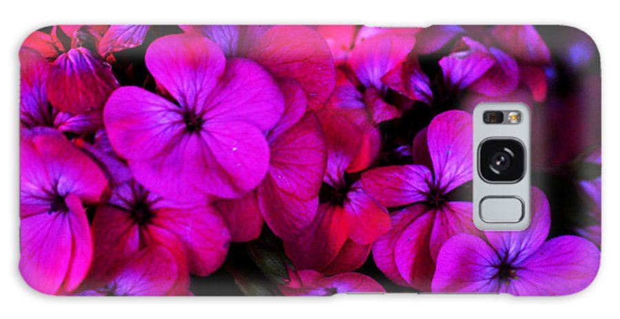 Clay Galaxy S8 Case featuring the photograph Hot Pink Florals by Clayton Bruster