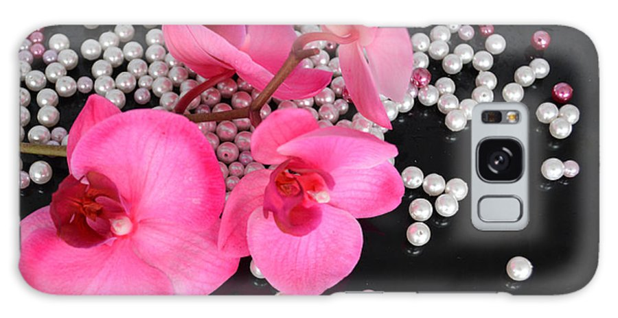 Orchid Galaxy S8 Case featuring the photograph Hot Pink Orchids by To-Tam Gerwe