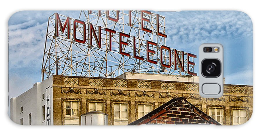 Hotel Monteleone - New Orleans Galaxy S8 Case featuring the photograph Hotel Monteleone - New Orleans by Bill Cannon
