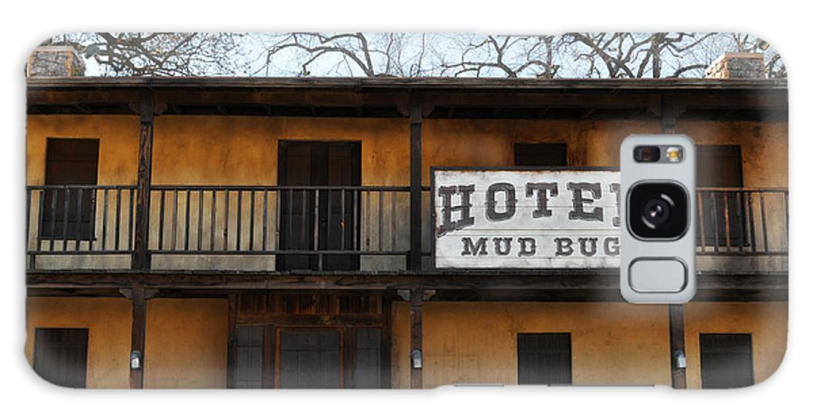 Hotel Galaxy S8 Case featuring the photograph Hotel Mud Bug Paramount Ranch by Kyle Hanson