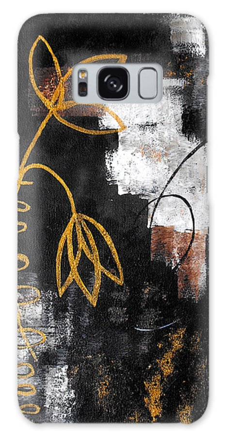Abstract Galaxy S8 Case featuring the painting House Of Memories by Ruth Palmer