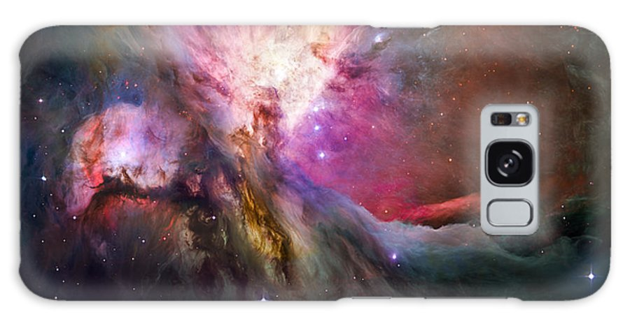 3scape Galaxy S8 Case featuring the photograph Hubble's Sharpest View Of The Orion Nebula by Adam Romanowicz