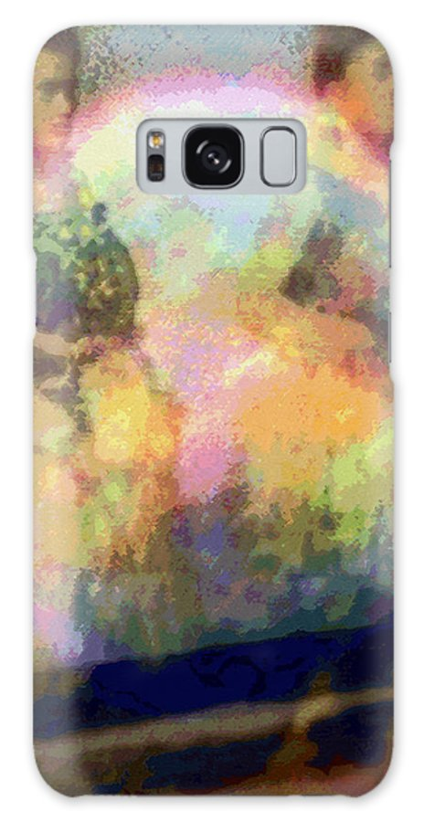 Tropical Interior Design Galaxy Case featuring the photograph Hula Waiona by Kenneth Grzesik