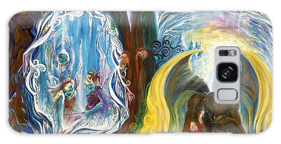 Reflections Galaxy S8 Case featuring the painting Humbly Join Along... by Jennifer Christenson