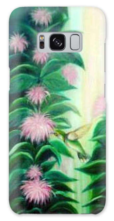 Hummingbird Galaxy S8 Case featuring the painting Hummingbird by Dina Holland