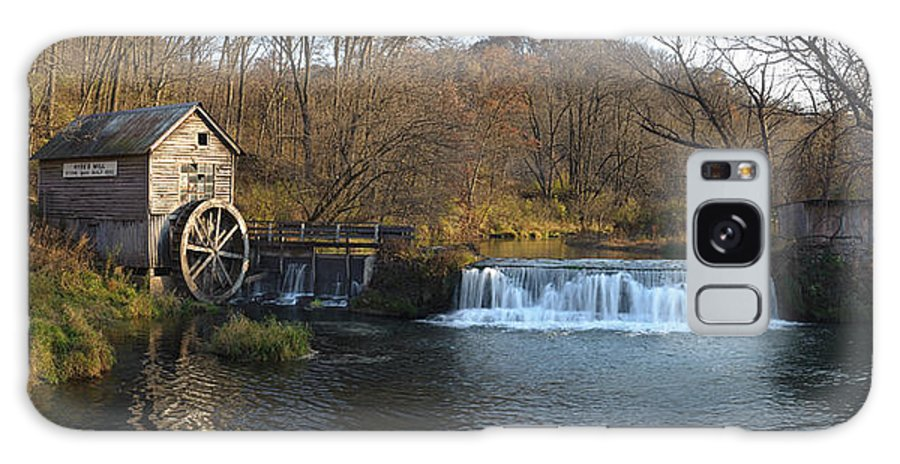 Creek Galaxy S8 Case featuring the photograph Hyde Mill Wisconsin by Steve Gadomski