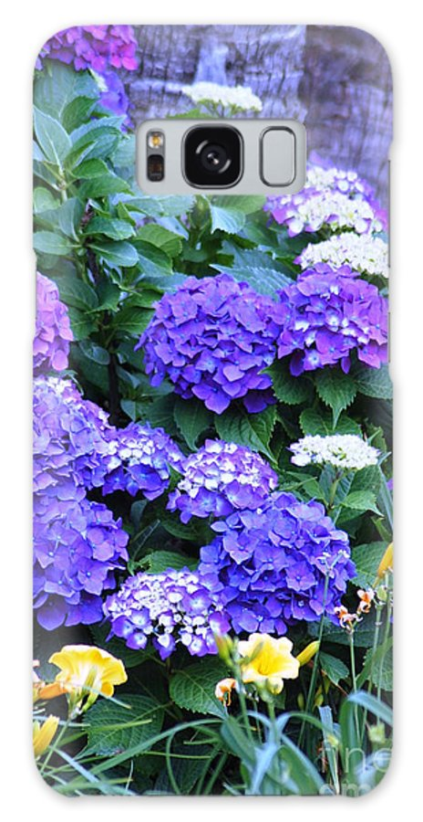 Flowers Galaxy S8 Case featuring the photograph Hydrangeas by Donna Bentley