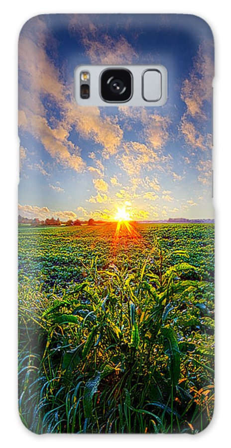 Spring Galaxy S8 Case featuring the photograph I Don't Live To Be by Phil Koch