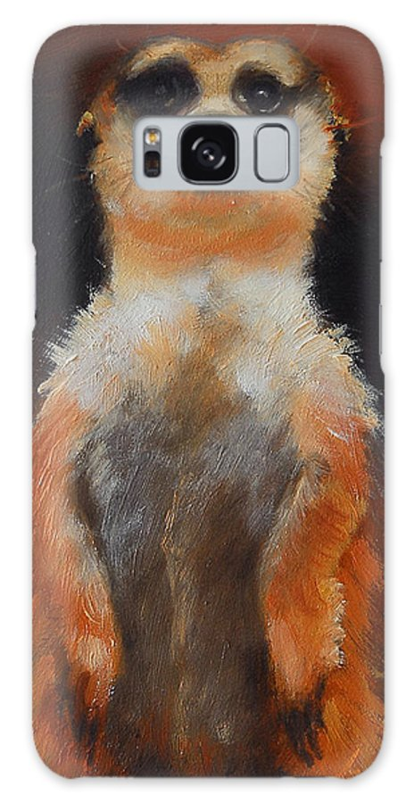 Oil Galaxy S8 Case featuring the painting I See You Too by Greg Neal