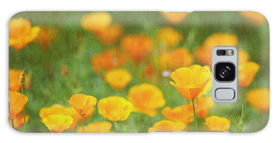 Flowers Galaxy S8 Case featuring the photograph I Shall Dream Here II by Rebecca Cozart