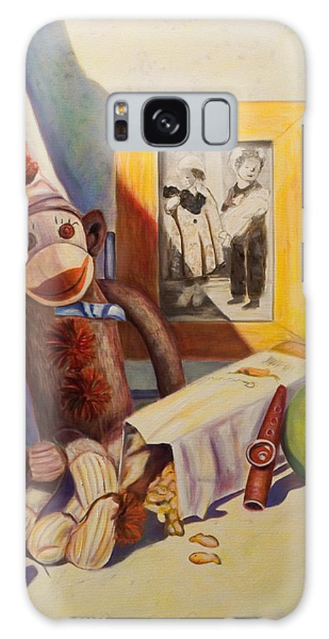 Children Galaxy S8 Case featuring the painting I Will Remember You by Shannon Grissom
