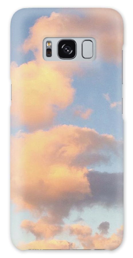Skies Galaxy Case featuring the photograph Ice Cream Cloud Cone by Suzanne Udell Levinger