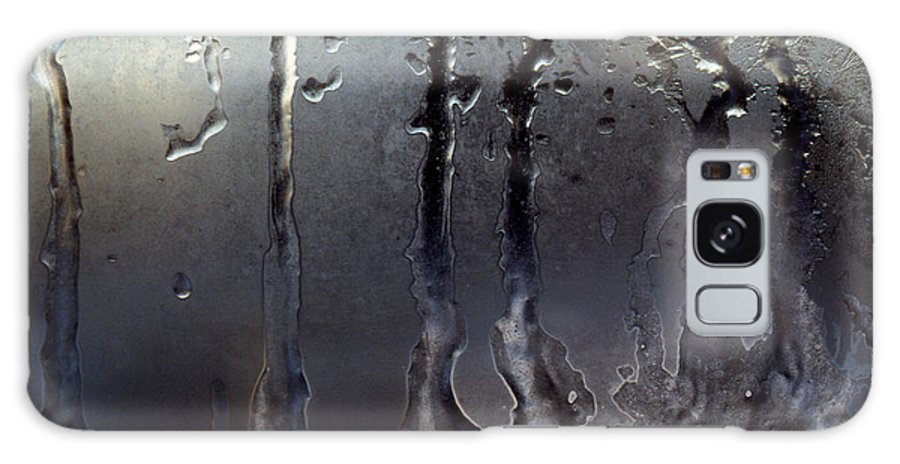 Macrophotography Galaxy S8 Case featuring the photograph Ice On Window 3 by Lee Santa