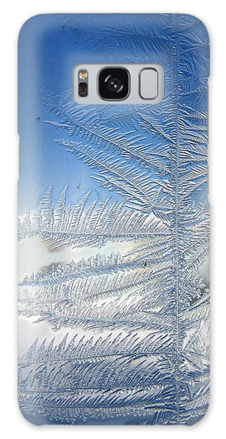 Ice Galaxy Case featuring the photograph Ice Tree by Rhonda Barrett