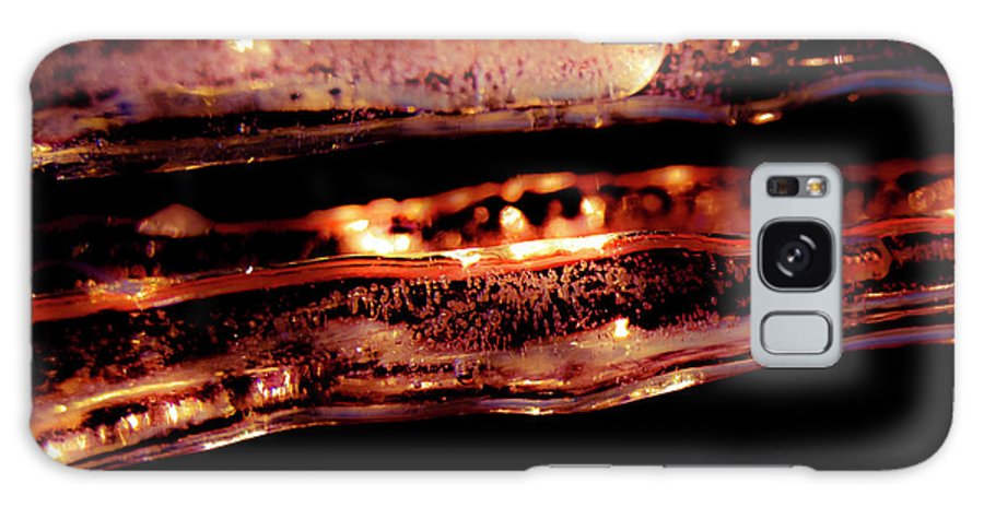Icicles Galaxy S8 Case featuring the photograph Icicles II by Grebo Gray