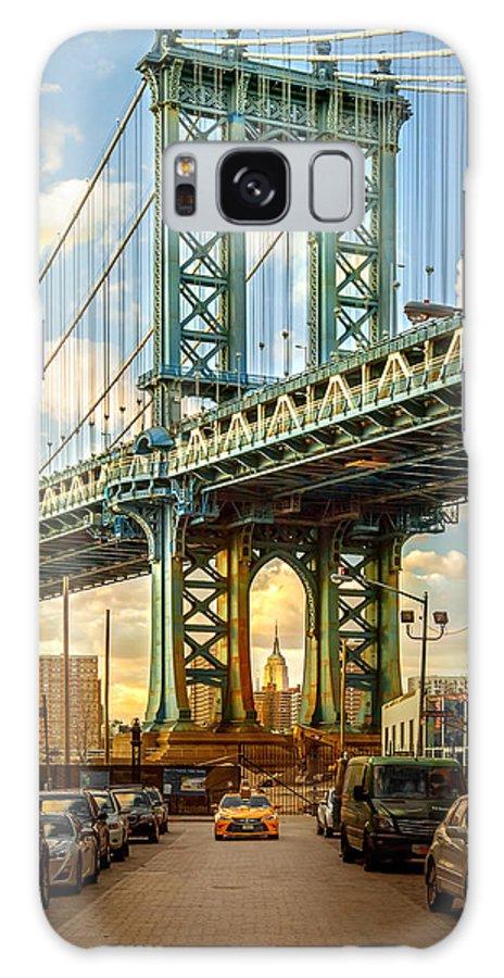 New York City Galaxy Case featuring the photograph Iconic Manhattan by Az Jackson