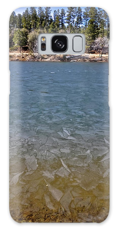 Ice Galaxy S8 Case featuring the photograph Icy Lake by Brenton Woodruff