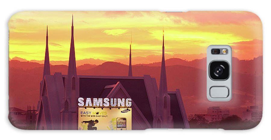 Insogna Galaxy S8 Case featuring the photograph Iglesia Ni Cristo Sunset Cebu City Philippines by James BO Insogna