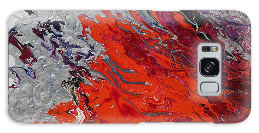Fusionart Galaxy Case featuring the painting Ignition by Ralph White