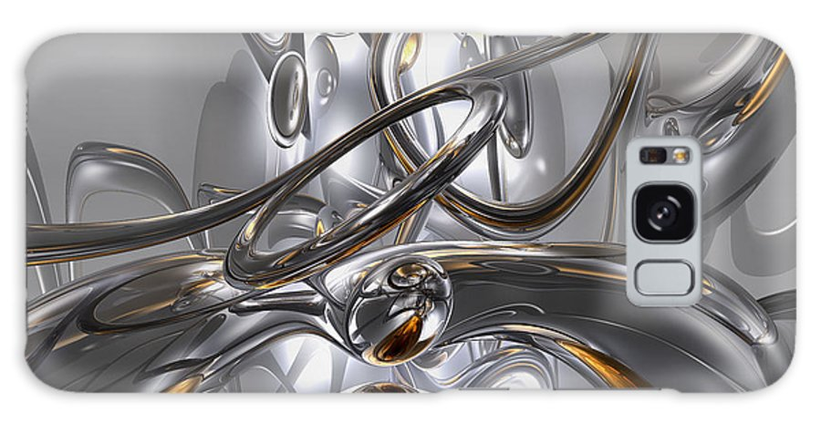 3d Galaxy S8 Case featuring the digital art Illusions Abstract by Alexander Butler