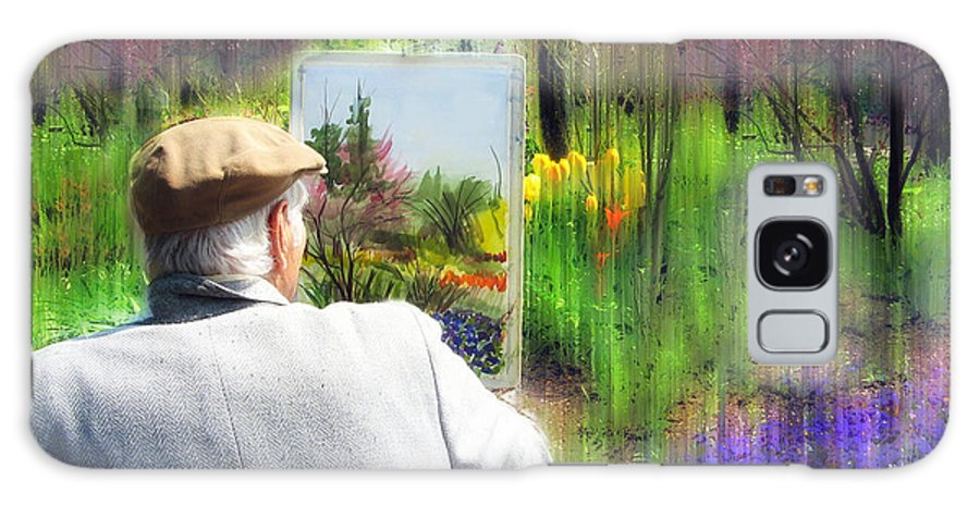 Artist Galaxy S8 Case featuring the photograph Impressionist Painter by Jessica Jenney
