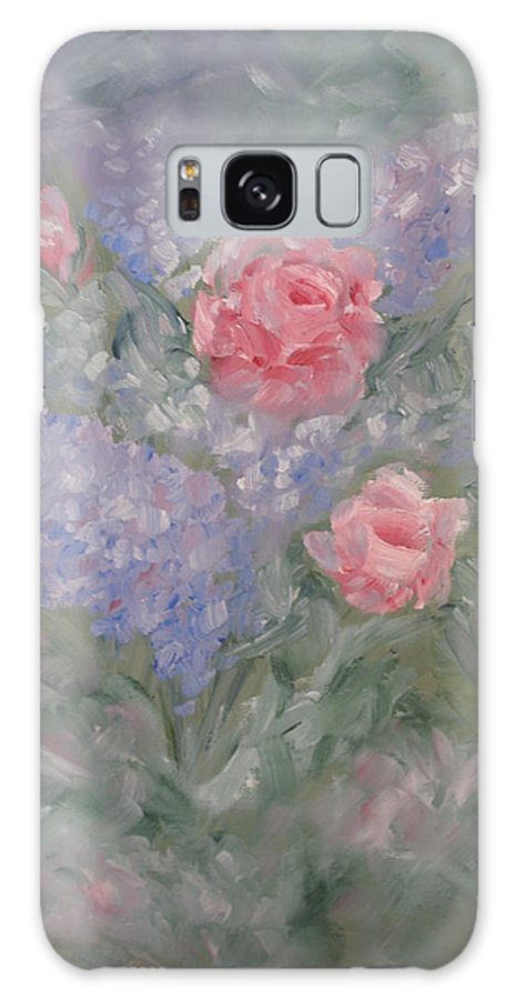 Flowers Galaxy S8 Case featuring the painting In Bloom by Carrie Mayotte