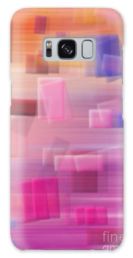 Abstract Galaxy S8 Case featuring the digital art In Motion by Chris Dippel