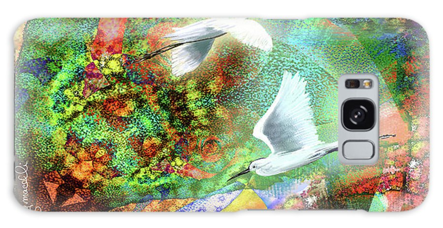 Nature Galaxy S8 Case featuring the digital art In The Magnificence by Tony Macelli