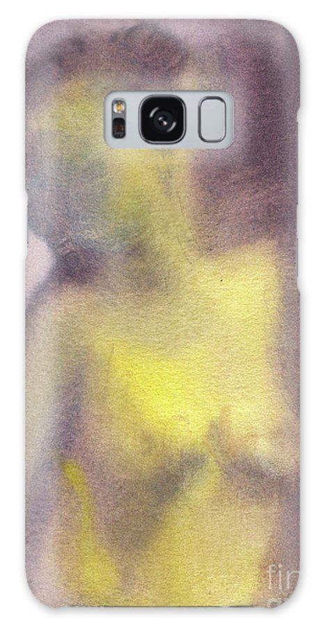 Nude Galaxy S8 Case featuring the painting In The Morning Light by Michal Boubin