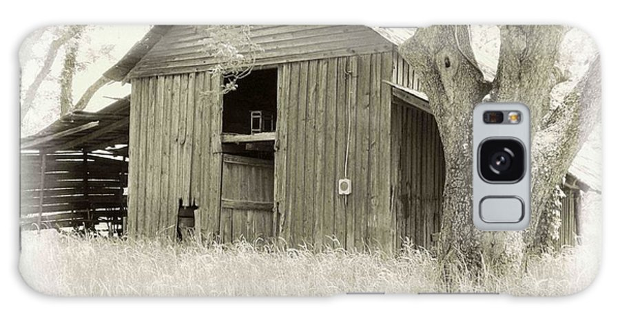 Barn Galaxy S8 Case featuring the photograph In The Pecan Orchard by Nelson Strong