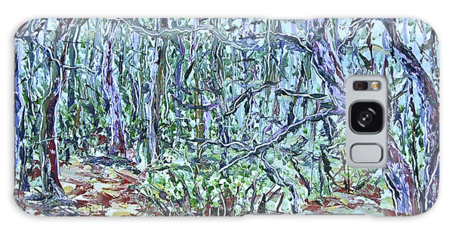 Landscape Galaxy Case featuring the painting In The Woods by J E T I I I