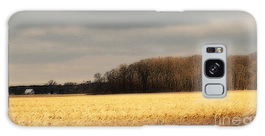 Corn Galaxy S8 Case featuring the photograph In Yonder Timber by Michelle Hastings