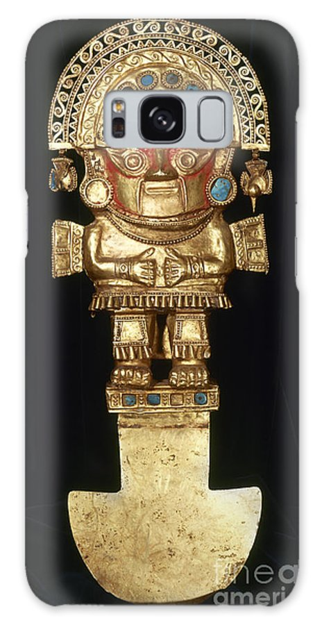 Ancient Galaxy S8 Case featuring the photograph Incan Gold Ornament by Granger