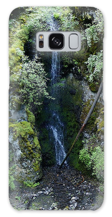 Nature Galaxy S8 Case featuring the photograph Indian Canyon Waterfall by Ben Upham III