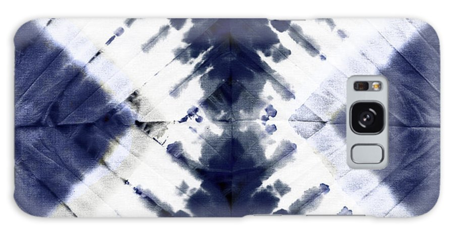 Tie Dye Galaxy S8 Case featuring the painting Indigo II by Mindy Sommers