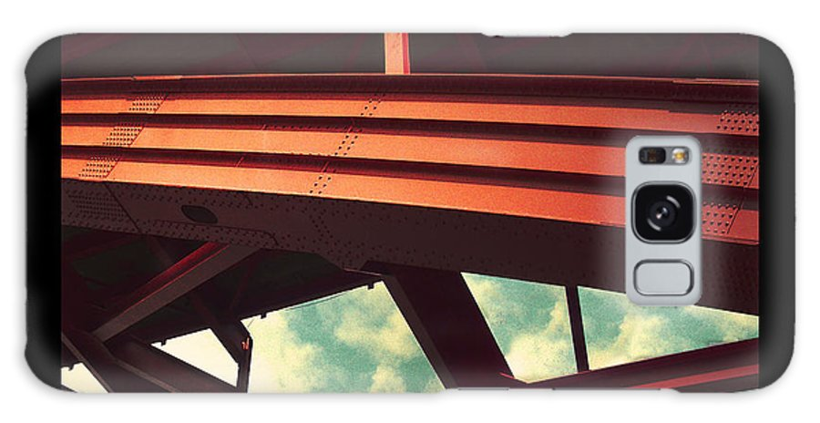 Bridge Galaxy Case featuring the photograph Infrastructure by Tim Nyberg