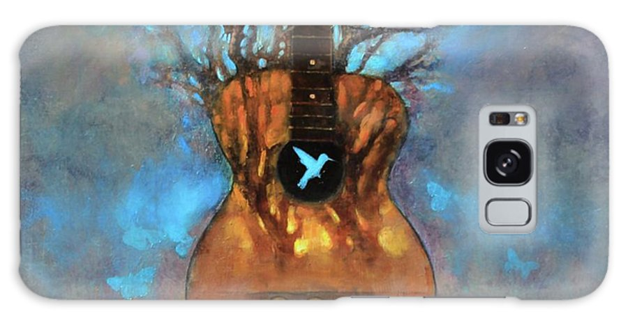Tree Galaxy Case featuring the painting Inner Sanctum by Joshua Smith