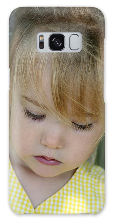 Angelic Galaxy Case featuring the photograph Innocence II by Margie Wildblood