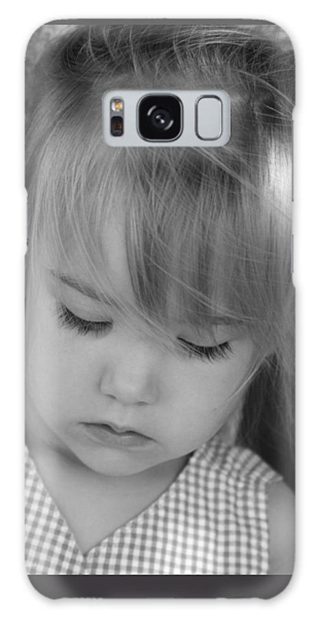 Angelic Galaxy S8 Case featuring the photograph Innocence by Margie Wildblood