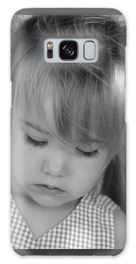 Angelic Galaxy Case featuring the photograph Innocence by Margie Wildblood