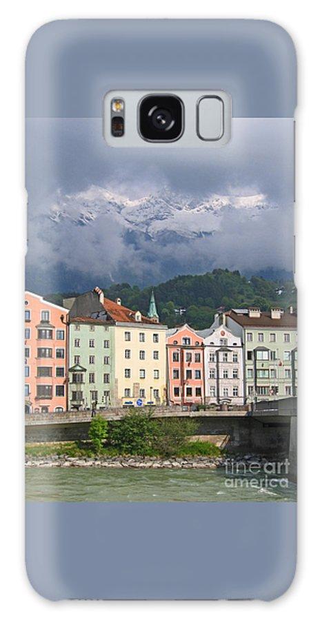 Innsbruck Galaxy S8 Case featuring the photograph Innsbruck by Ann Horn