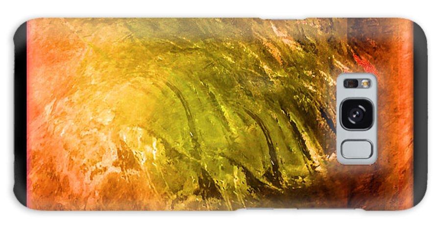 Abstract Galaxy S8 Case featuring the digital art Insanity by John Krakora