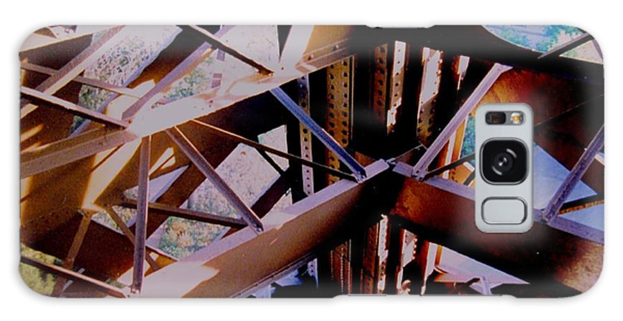 Eiffel Galaxy Case featuring the photograph Inside Eiffel by Ian MacDonald