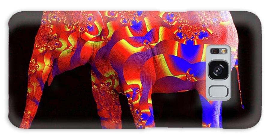 Elephant Galaxy S8 Case featuring the digital art Inside Out by Robert Orinski